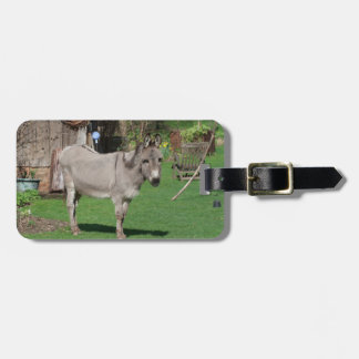 Rural Still Life With Donkey Luggage Tag