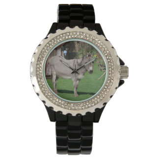 Rural Still Life With Donkey Watches