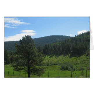 Rural Taos, New Mexico Stationery Note Card