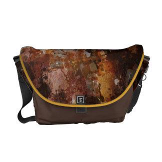 rural texture courier bag