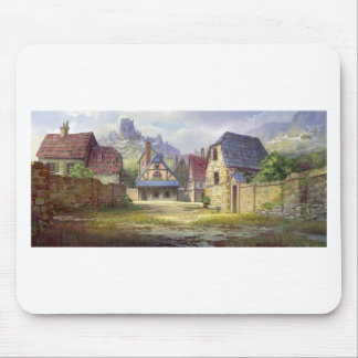 Rural Town My Birthplace Mouse Pad