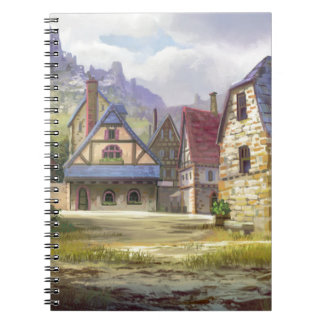 Rural Town My Birthplace Notebook