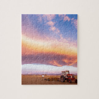 Rural Turbo Country Sky Jigsaw Puzzle