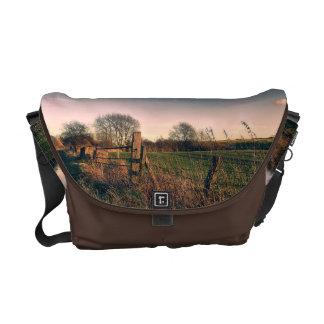 Rural Walk Home Messenger Bag