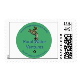 Rural Water Ventures stamp