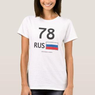 RUS. Front. Saint Petersburg T-Shirt