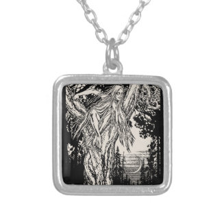 Rusalka Silver Plated Necklace