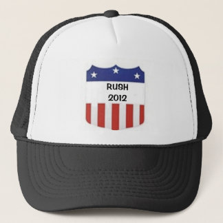 Rush 2012 trucker hat