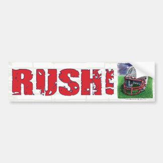 Rush! Bumpersticker Bumper Sticker