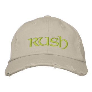 Rush cap for the new greeks/diy font+color