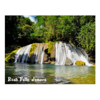 Rush Falls, Jamaica Postcard