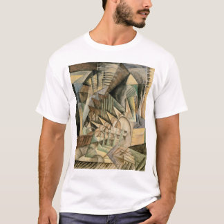Rush Hour, New York by Max Weber, Vintage Cubism T-Shirt