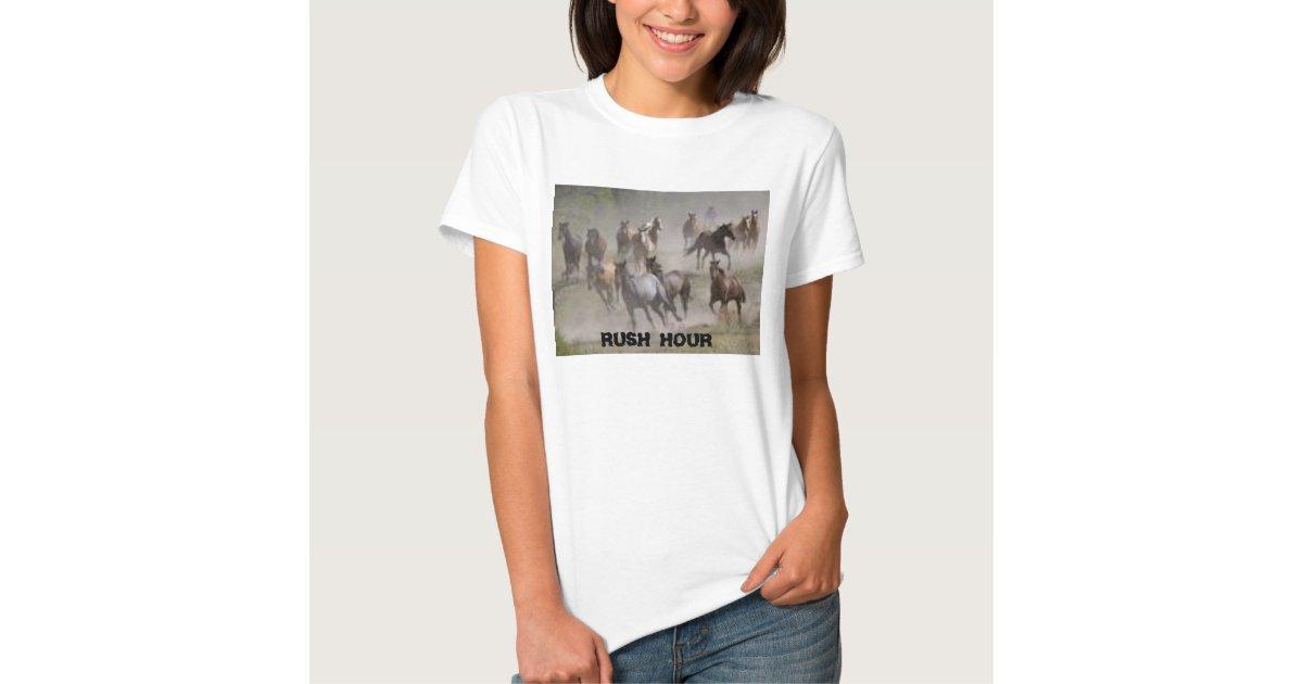 Rush Hour T Shirt Zazzle
