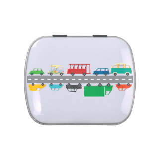 Rush Hour Traffic Jelly Belly Candy Tins