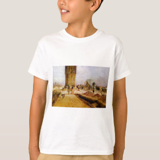 Rush hour traffic on the national road by Rudolf T-Shirt
