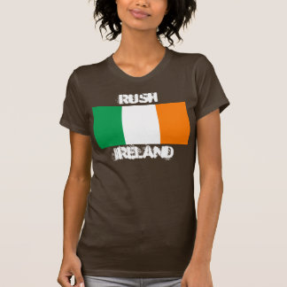 Rush, Ireland with Irish flag T-Shirt