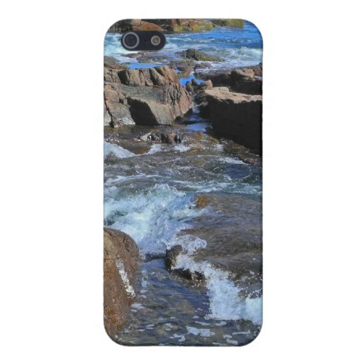 Rush of Tide at Thunder Hole  Covers For iPhone 5
