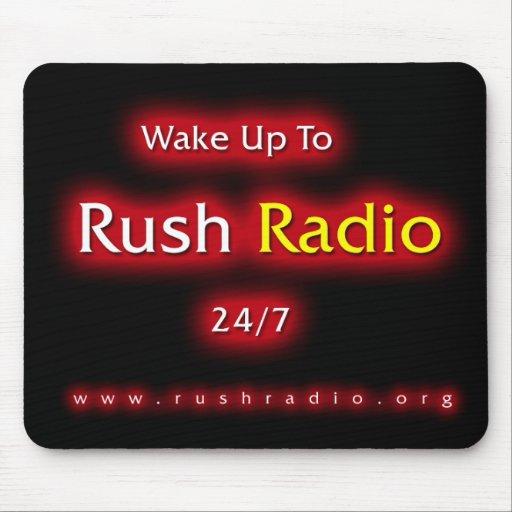 Rush Radio Mouse Pad