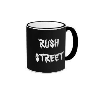 RUSH STREET - Chicago Ringer Coffee Mug