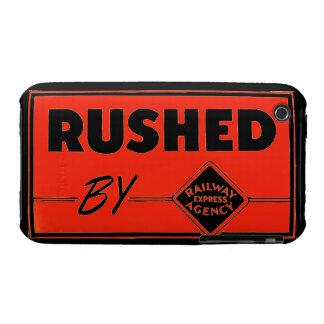 Rushed By Railway Express Agency iPhone 3 Case-Mate Case