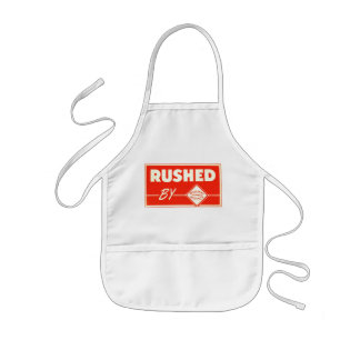 Rushed By Railway Express Agency Kids' Apron