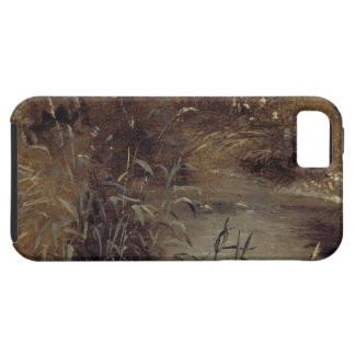 Rushes by a Pool, c.1821 (oil on paper on board) iPhone SE/5/5s Case