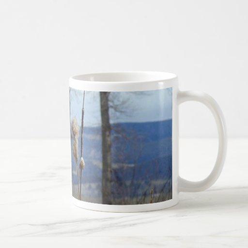 Rushes Classic White Coffee Mug
