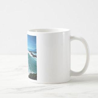 'Rushing In'. Classic White Coffee Mug