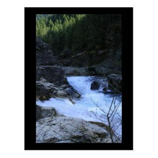 Rushing Water At Three Pools Postcard