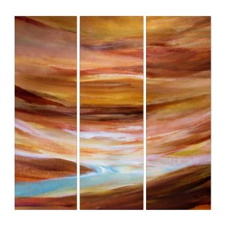 Rushing Waters Triptych