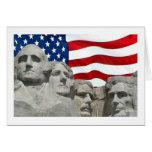 Rushmore / Flag Card