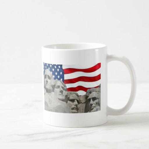 Rushmore / Flag Mug