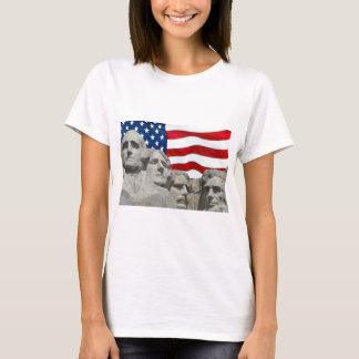 Rushmore / Flag T-Shirt