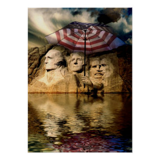 Rushmore Flood Poster