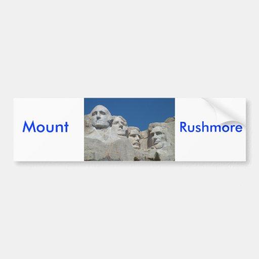 Rushmore Pegatina Para Auto