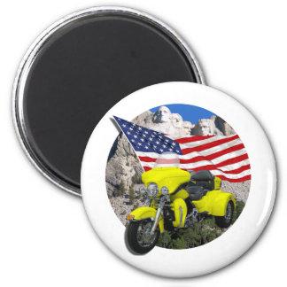 Rushmore Trike 2 Inch Round Magnet