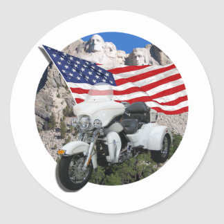 Rushmore Trike Etiqueta Redonda