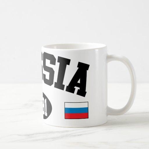 Rusia 1991 taza básica blanca