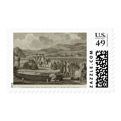Rusia 9 timbres postales