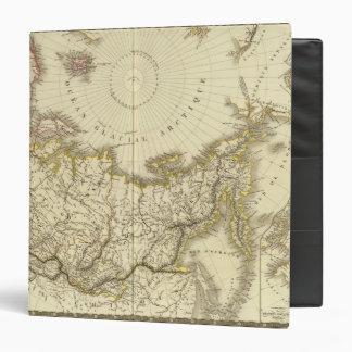 """Rusia asiática y región polar septentrional carpeta 1 1/2"""""""
