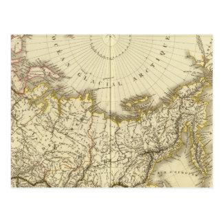 Rusia asiática y región polar septentrional postales