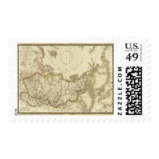 Rusia asiática y región polar septentrional sellos