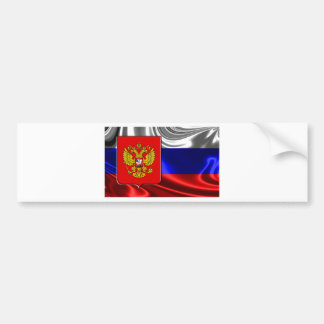 Rusia-Bandera #4 Pegatina Para Auto