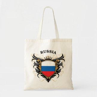 Rusia Bolsa Tela Barata