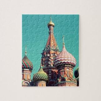Rusia colorida puzzles