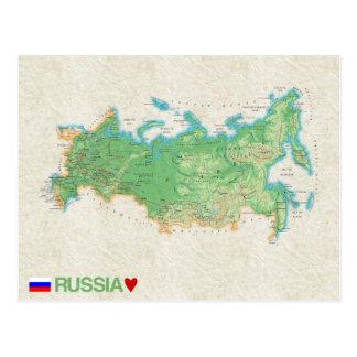 ♥ Rusia de las POSTALES del MAPA