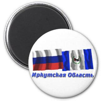 Rusia e Irkutsk Oblast Imán Redondo 5 Cm