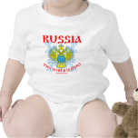 ¡Rusia el mundo es las nuestras МирНаш! Traje De Bebé