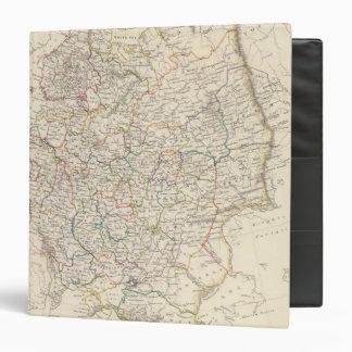 """Rusia en el mapa general de Europa Carpeta 1 1/2"""""""