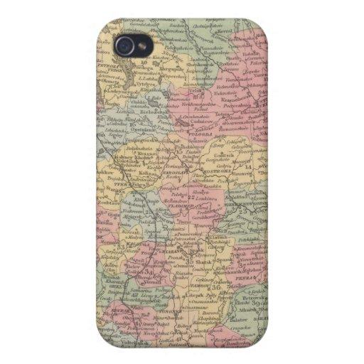 Rusia en Europa 5 iPhone 4 Fundas